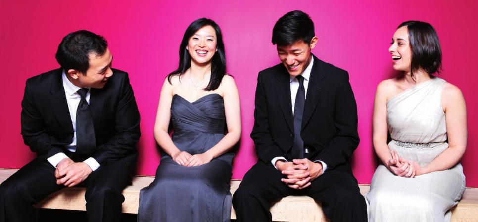 Das Parker Quartett spielt am 31. Juli in Hitzacker