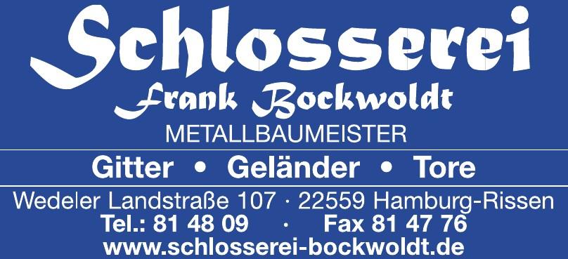 Schlosserei + Metallbau  Frank Bockwoldt