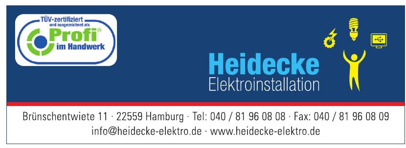 Heidecke Elektroinstalation