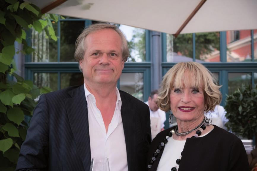 Marlies Möller mit Sohn Christian