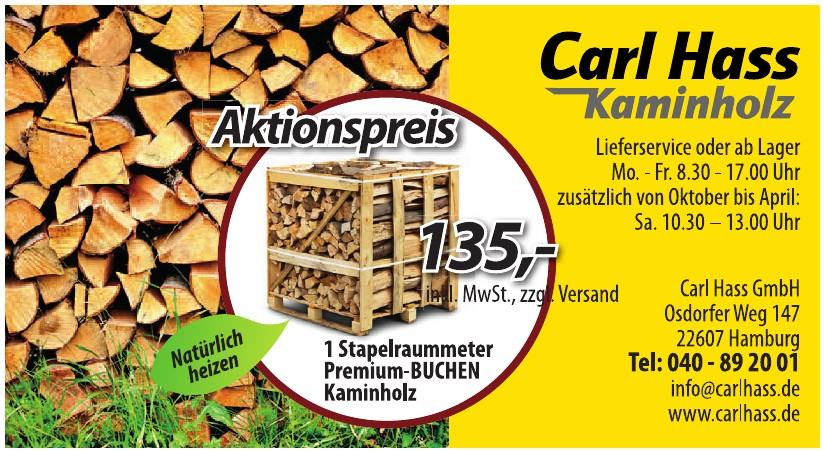 Carl Hass Kaminholz