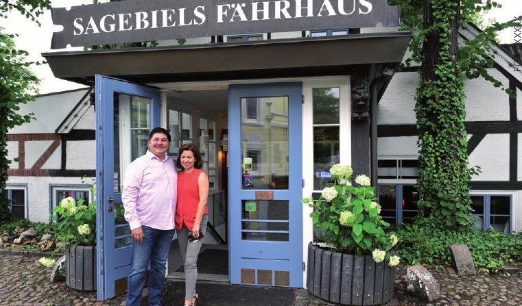 Das Ehepaar Frank und Kerstin Buddenhagen