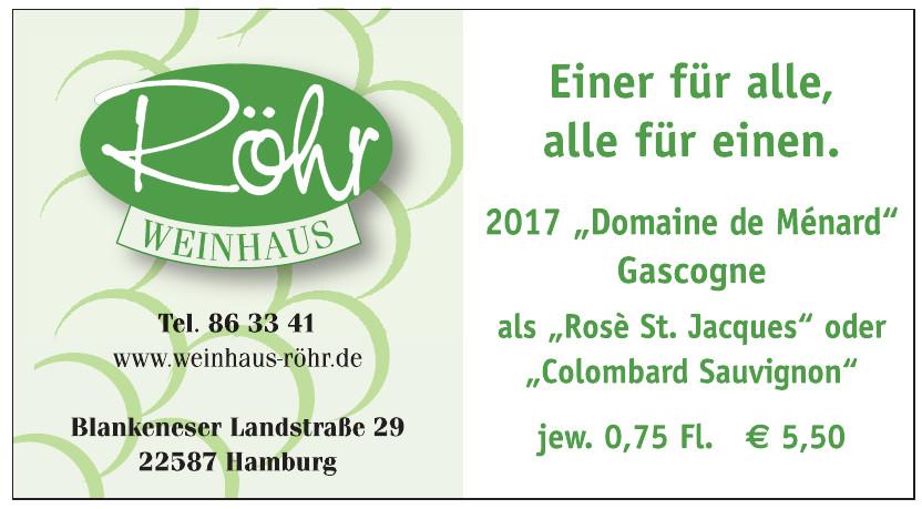 Weinhaus Röhr