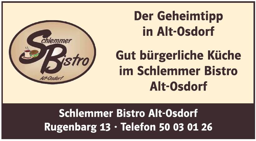 Schlemmer Bistro Alt-Osdorf