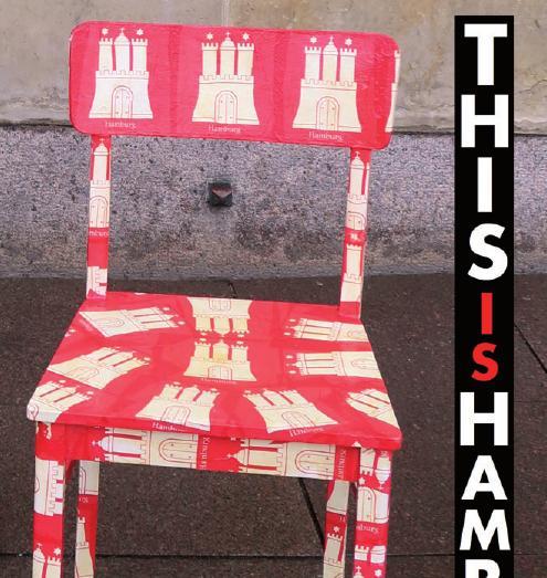 Der Hamburg-Stuhl soll Internationalität zeigen
