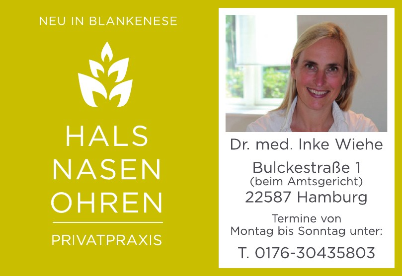 Dr. med. Inke Wiehe, HNO Privatpraxis