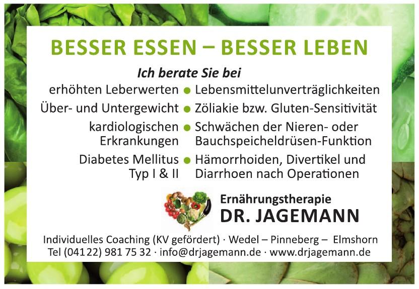 Dr. Jagemann, Ernährungstherapie