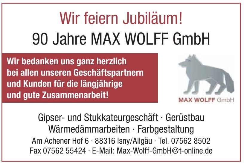 Max Wolff GmbH