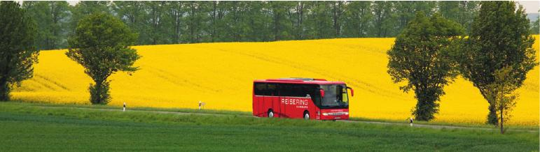 Bequem reisen mit den Bussen von Reisering