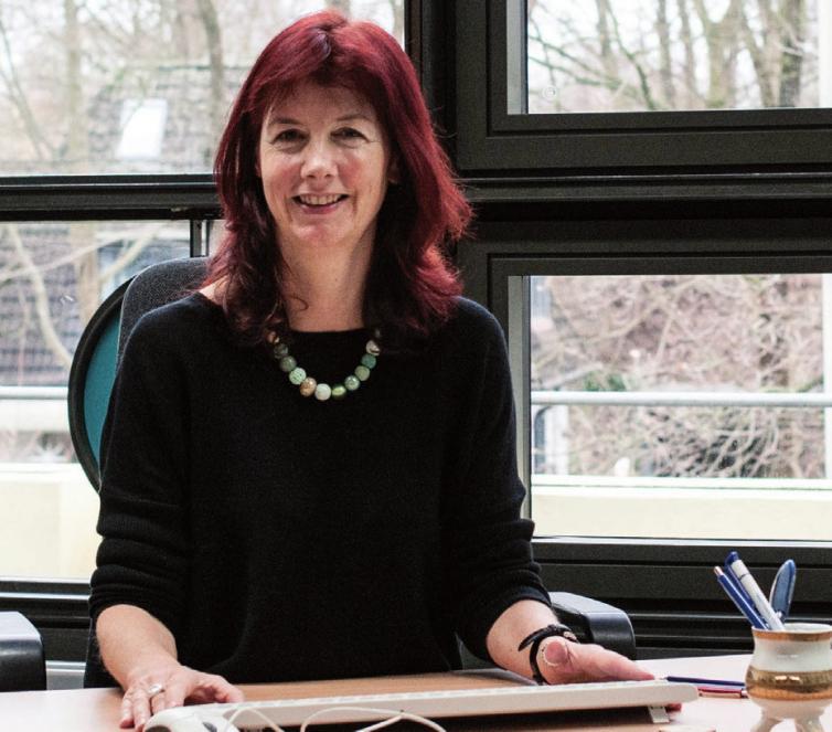 Diana Amann ist Schulleiterin des Christianeums in Othmarschen