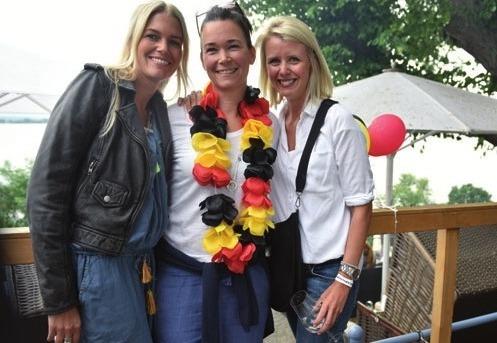 Sophie Rühland, Katja Thiesen und Anika Urban im Sagebiels