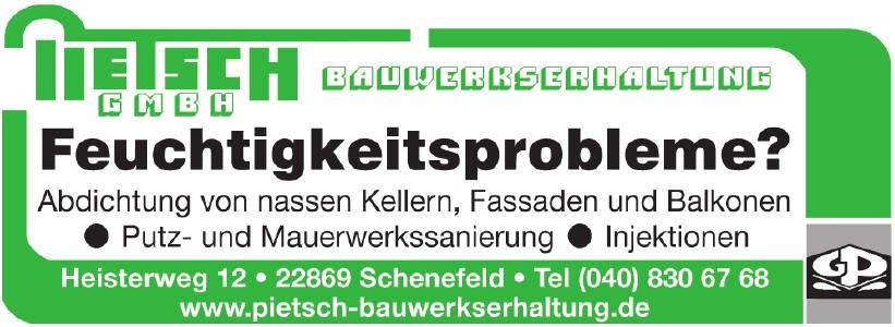 Pietsch Bauwerkserhaltung GmbH