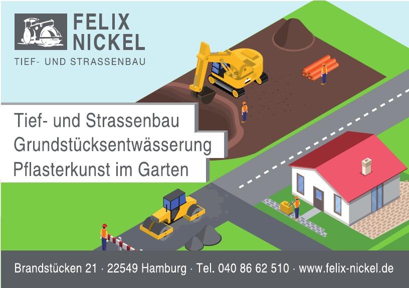 Felix Nickel Straßenbau
