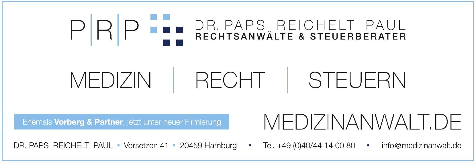 Dr. Paps Reichelt Paul