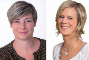 Kerstin Kailus und Christine Wüllner