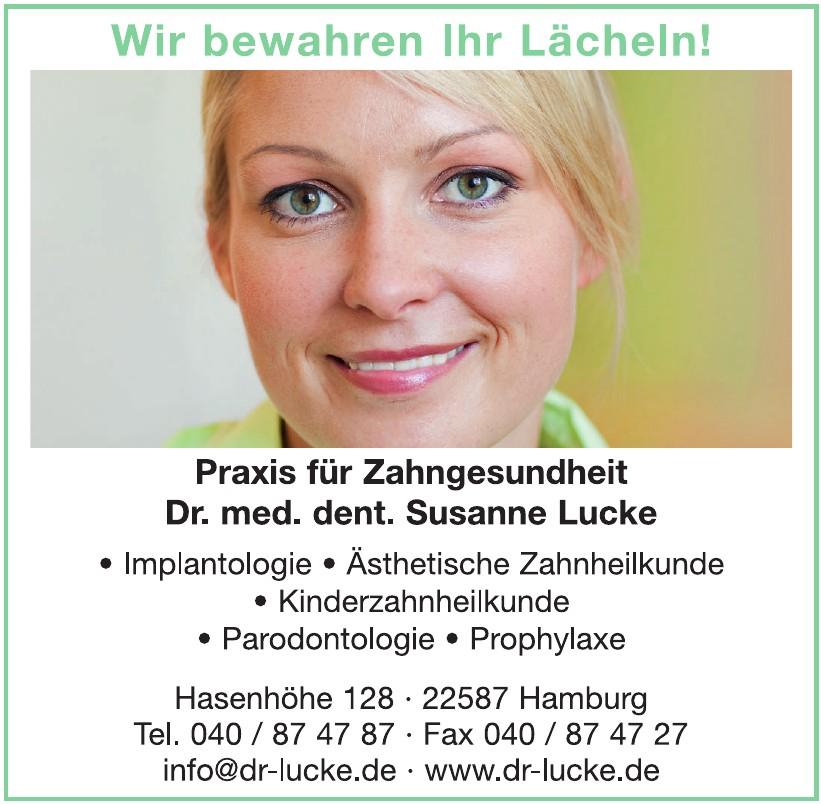 Dr. med dent. Susanne Lucke