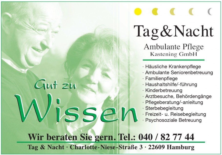 Tag & Nacht Ambulante Pflege