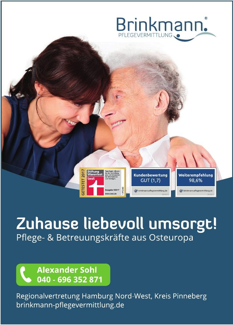 Brinkmann Pflegevermittlung GmbH