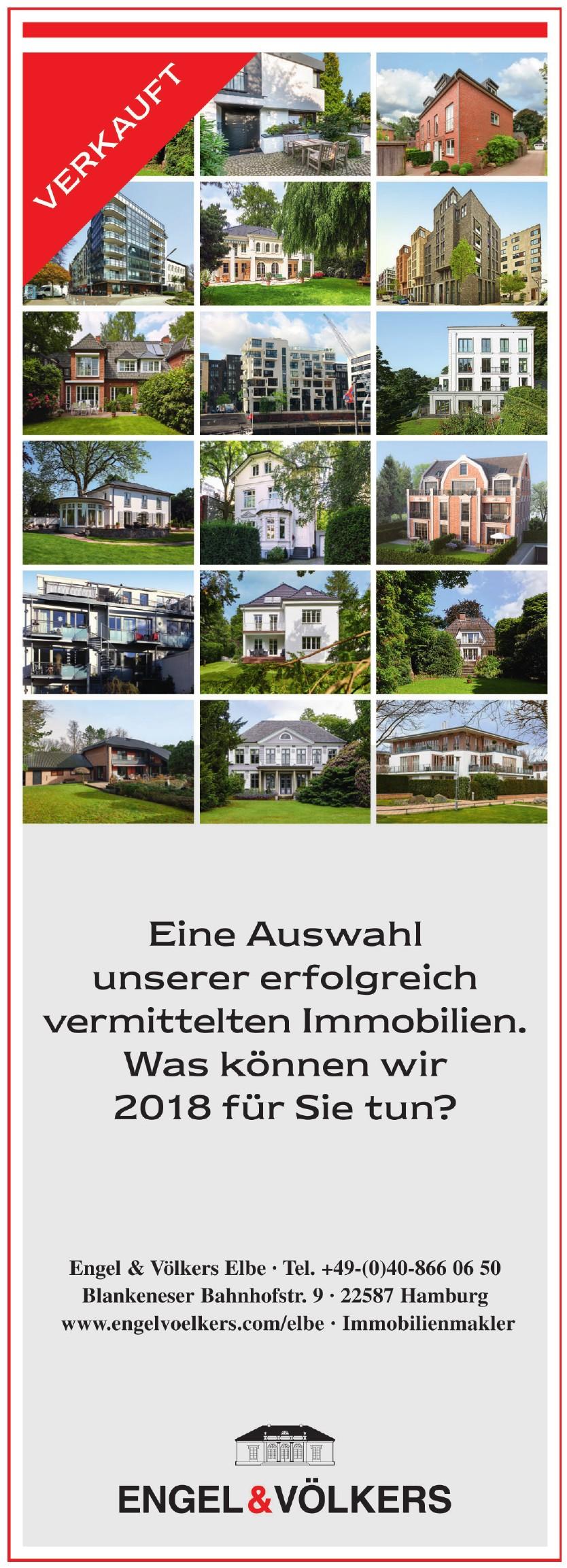 Engel & Völkers Elbe Immobilienmarkt