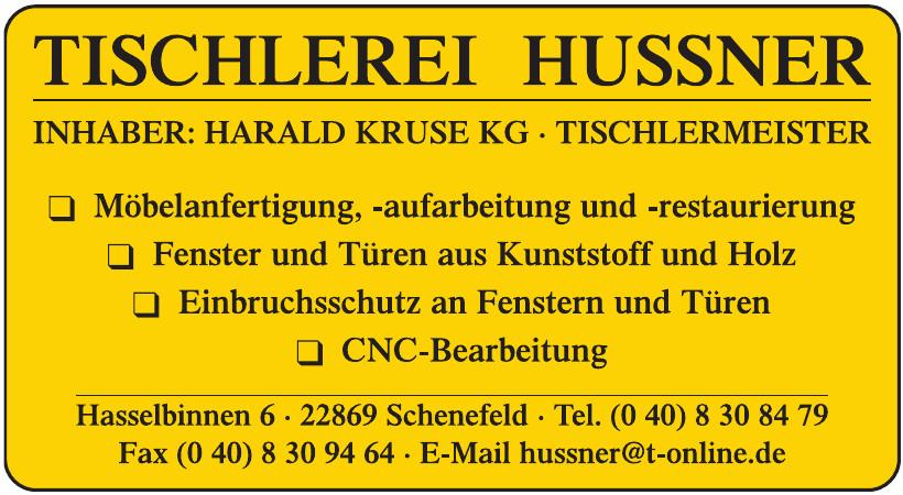 Tischlerei Hussner