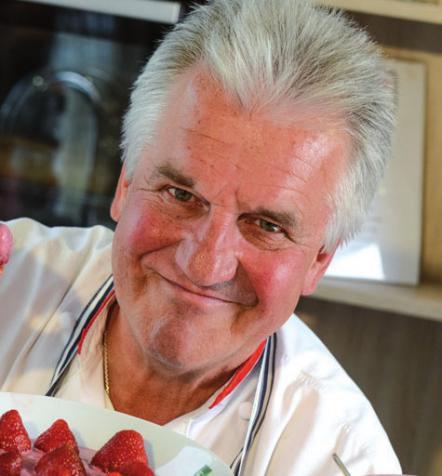 Brachte das Kochen nach Hamburg: Josef Viehhauser