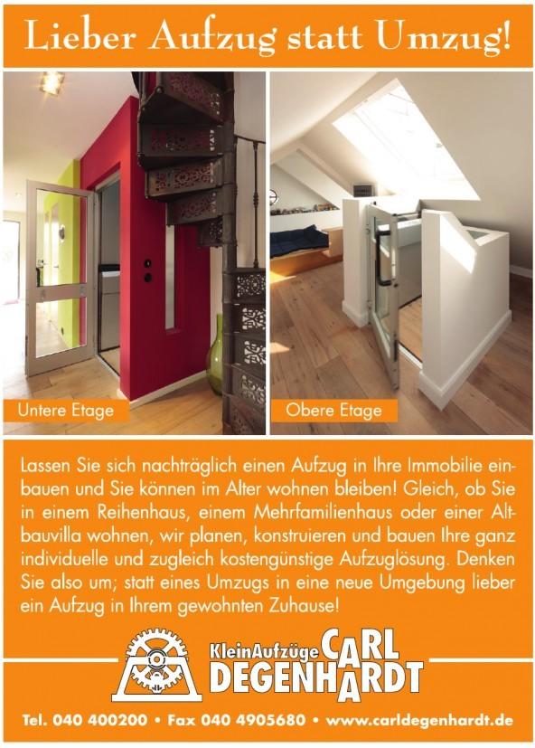 Klein Aufzüge Carl Degenhardt