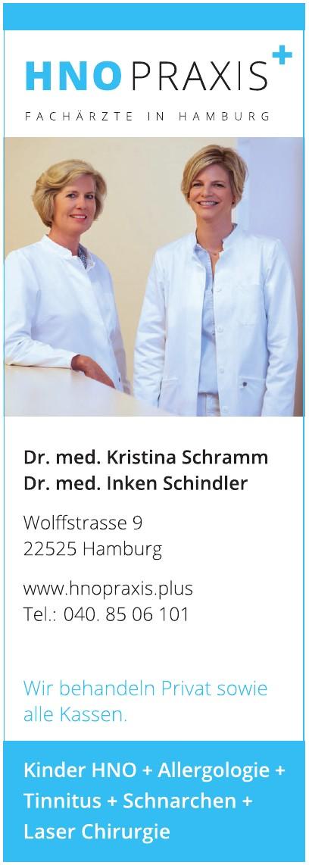 HNO Praxis, Dr. med. Kristina Schramm, Dr. med. Inken Schindler