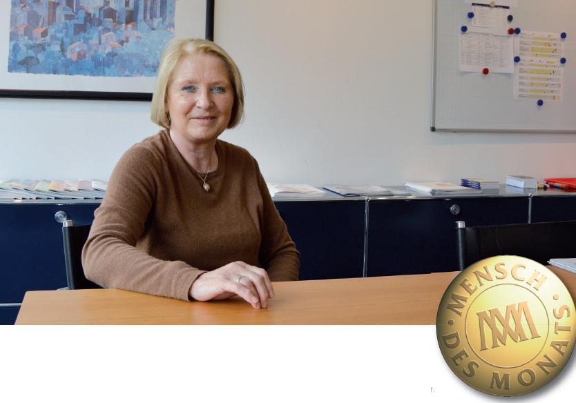 Ursula Ihrig zu Besuch in der Redaktion