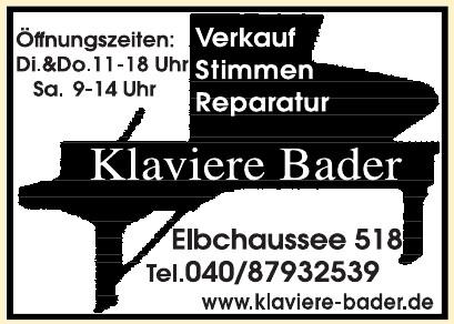 Klaviere Bader