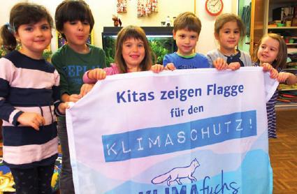 Auch die Kinder aus dem Montessori Kinderhaus in Schenefeld nahmen am klimafreundlichen Frühstück teil FOTO: RALF THIELEBEIN