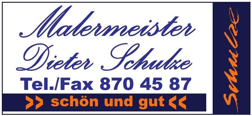 Malermaister Dieter Schulze