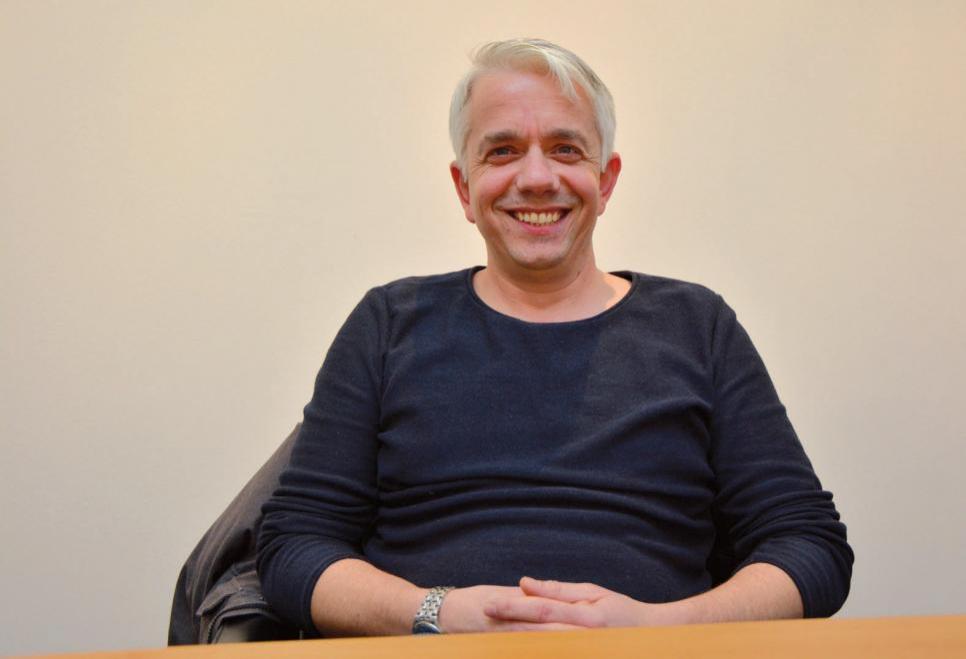 Thomas Schulz arbeitet ehrenamtlich im Ronald McDonald Haus in Altona