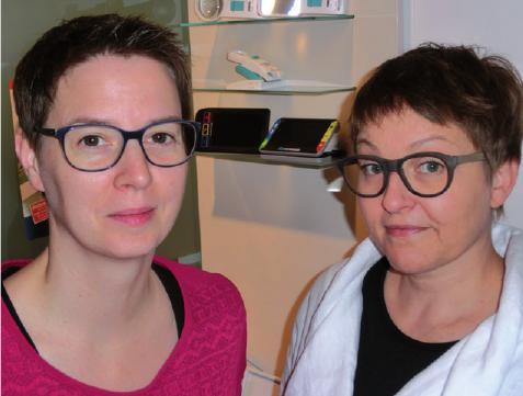 Vilma Mottig und Katrin Ellmer