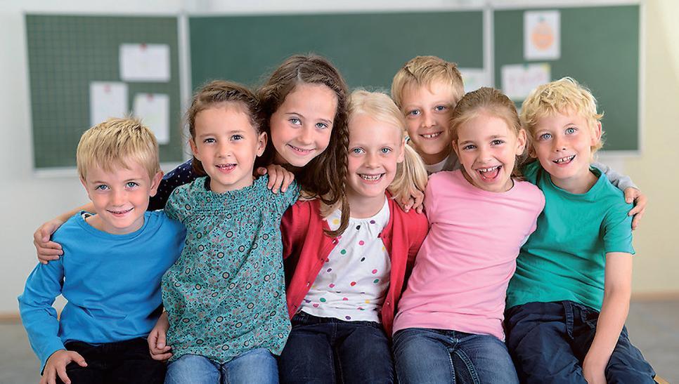 Unsere Kinder sind uns wichtig. Wir machen uns Gedanken; über Bildung, Erziehung, Schulkonzepte ...FOTO: CONTRASTWERKSTATT_FOTOLIA.COM