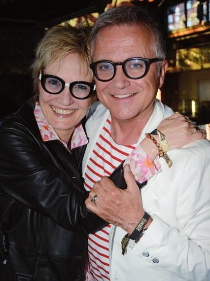 Jörg Knör mit Ehefrau Kerstin beim Matjesfestiva
