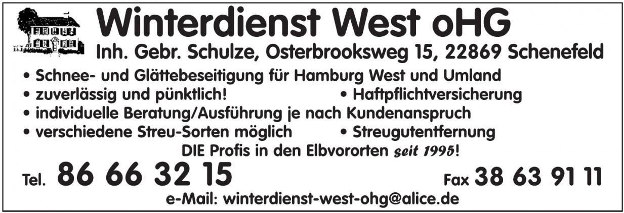 Winterdienst West