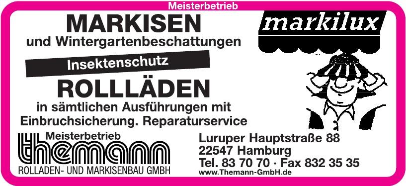 Meisterbetrieb Themann Rolladen- und Markisenbau GmbH