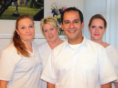 Omid Raissi und sein Team