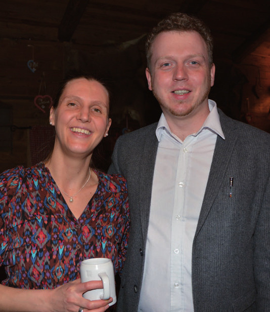 Sebastian Schmidt mit Anne Schmidt (Faber Castell)