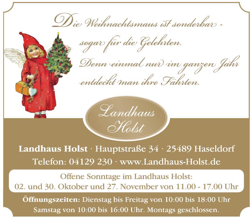 Landhaus Holst