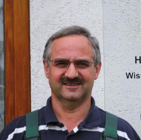 Glasermeister Hans Jürgen Fechtner