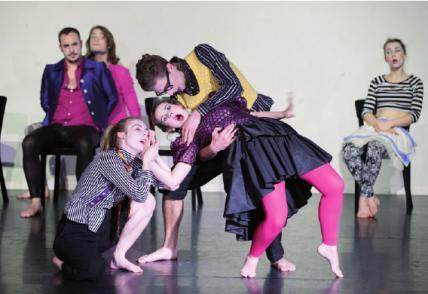 Orientierungskurs an der Schule für SchauspielFOTO: CH. MANNHARDT