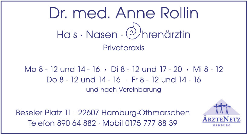 Dr. Med. Anne Rollin