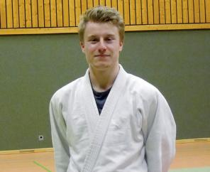 Judo-Trainer Patrick Geercken lehrt Selbstverteidigung