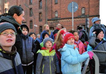 Entdeckungen zwischen Ebbe und Flut in der Speicherstadt FOTO: ELKE SCHNEIDER