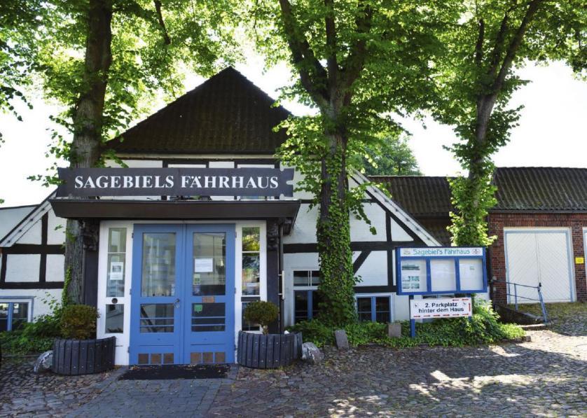 Sagebiels Fährhaus wenige Tage vor der Wiedereröffnung am 2. Juli