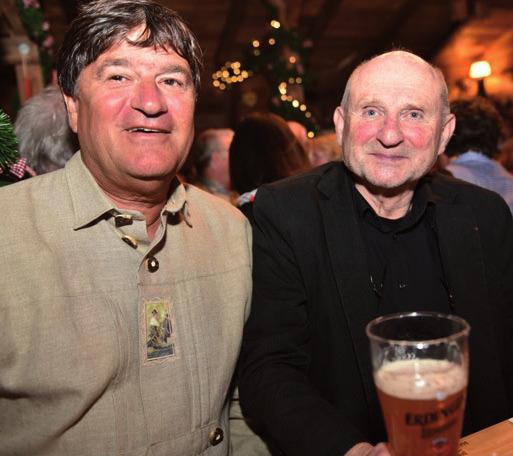 Große Koalition beim Bier: Clemens Reus (CDU) und Wolfgang Kaeser (SPD)