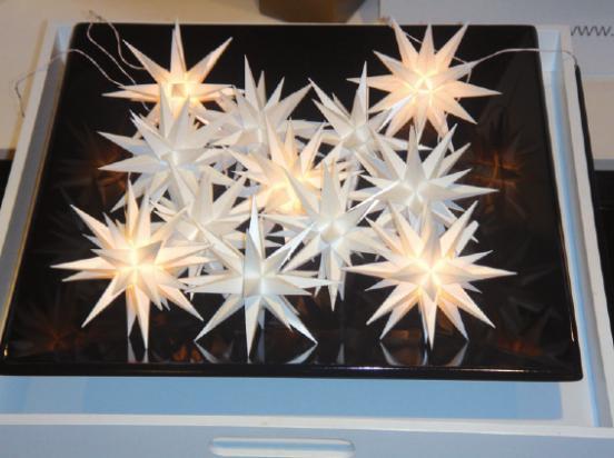 Weihnachtsvorboten: Herrnhuter Sterne