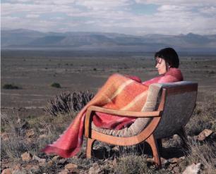 Naturhaardecke, gefertigt in Südafrika