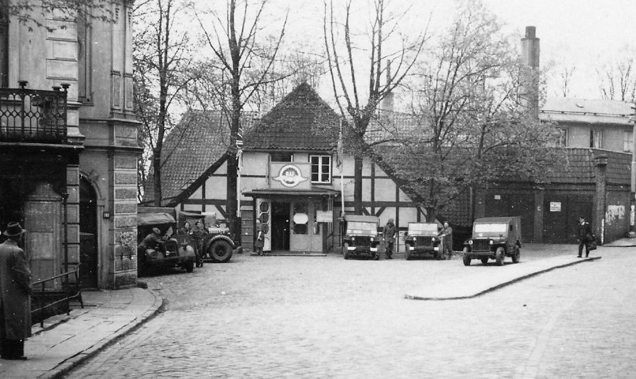 Sagebiel diente 1945 den Briten als Hauptquartier für den Hamburger Westen